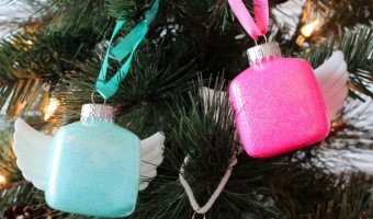 DIY Angel Ornaments | Cricut Explore Giveaway