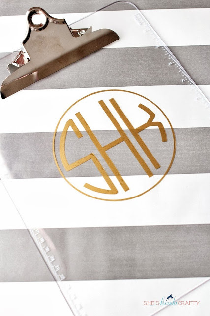 diy monogram gifts guide